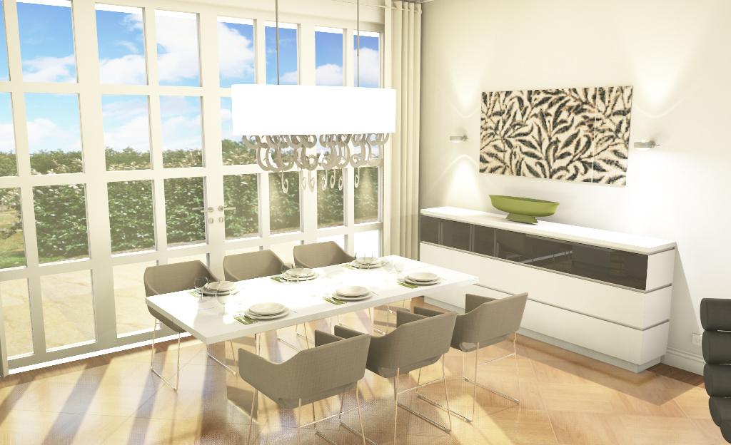 Wohnzimmer Esstisch Planung