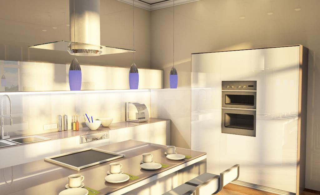 Küche Kochbereich Planung