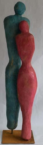 Skulptur Indoor Begegnungen