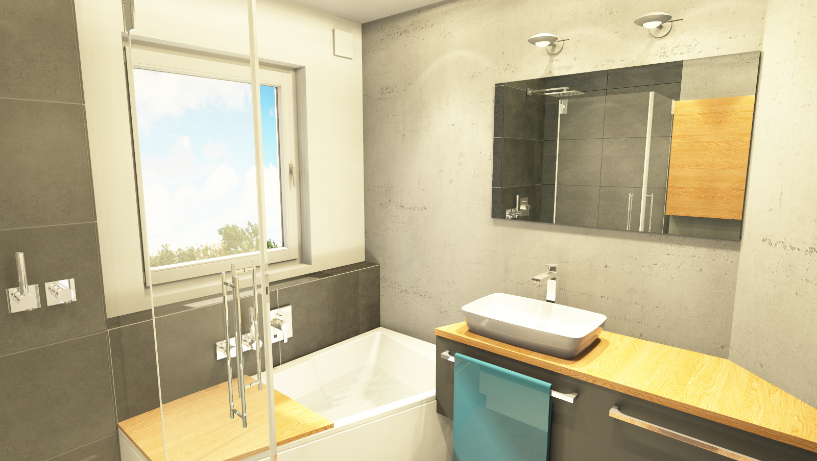 Planung Badezimmer 4
