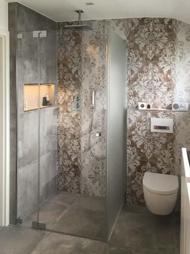Dusche WC vom Innenarchitekten