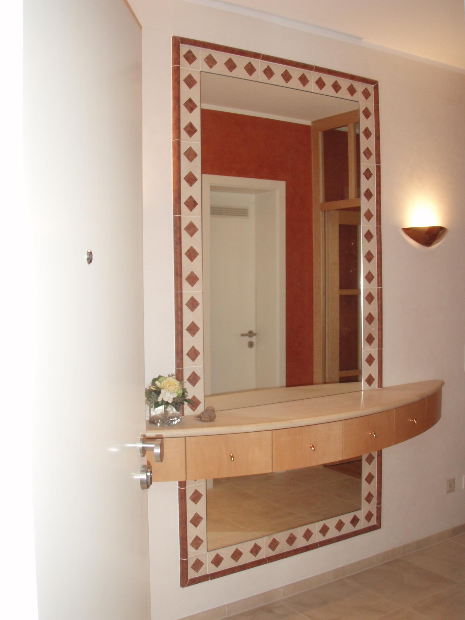 Spiegel Garderobe