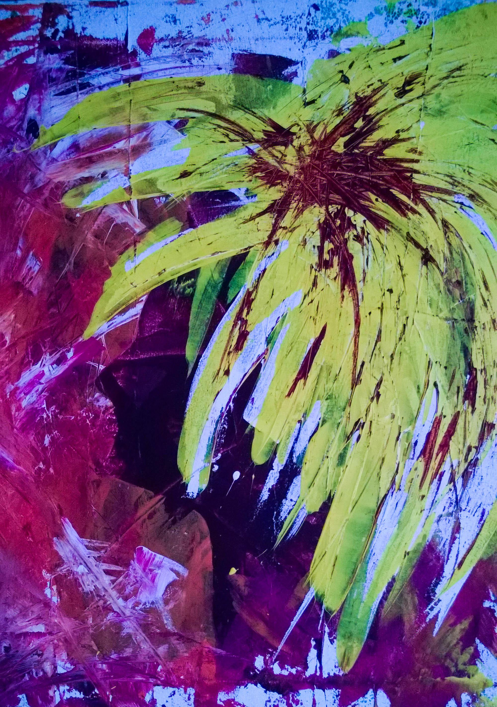 Kunst Acrylmalerei