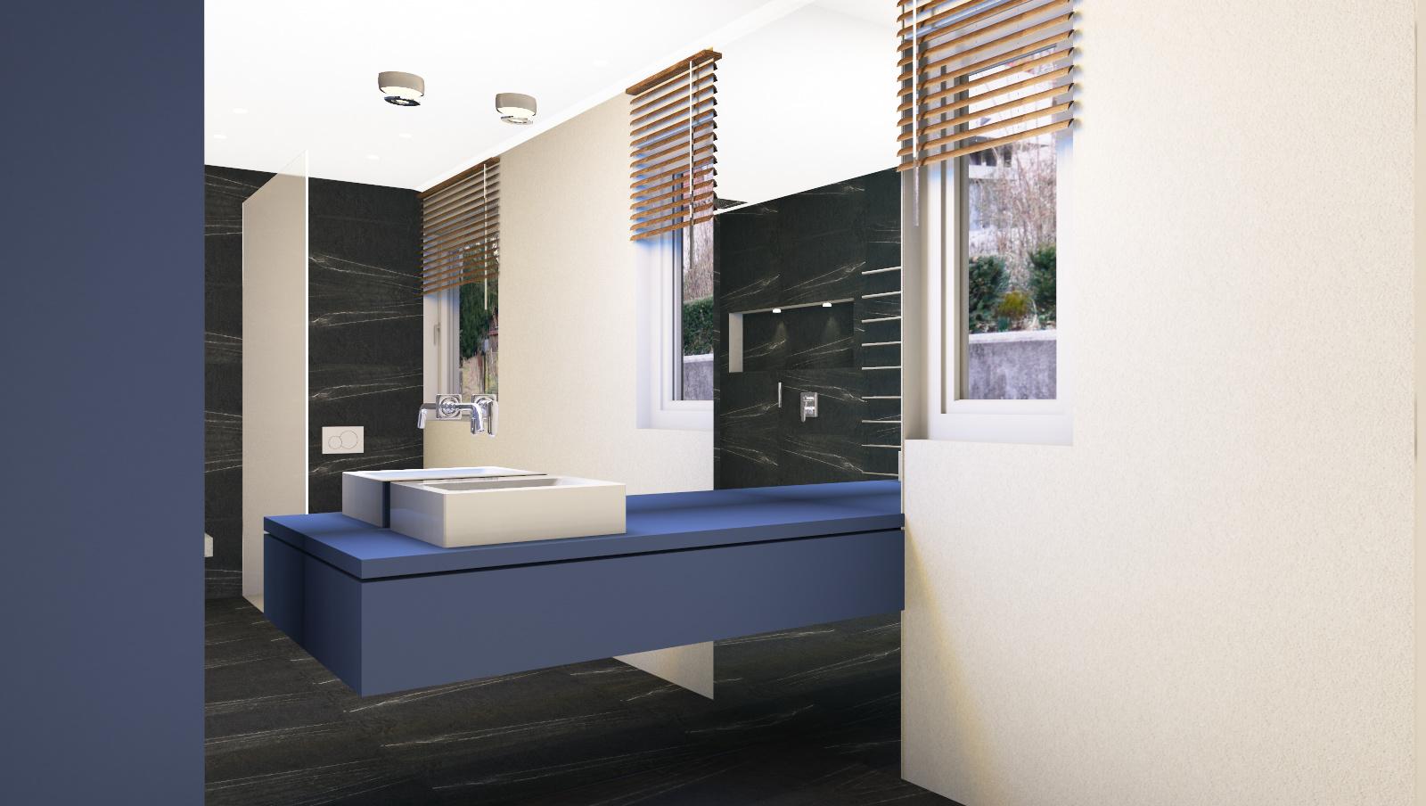Waschtisch Spiegel Planung