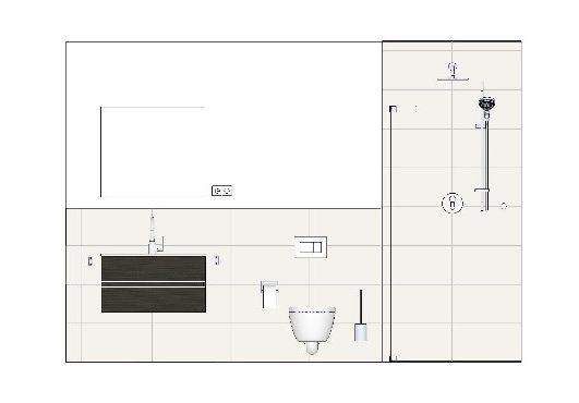 Garderobe mit 2 Sideboards